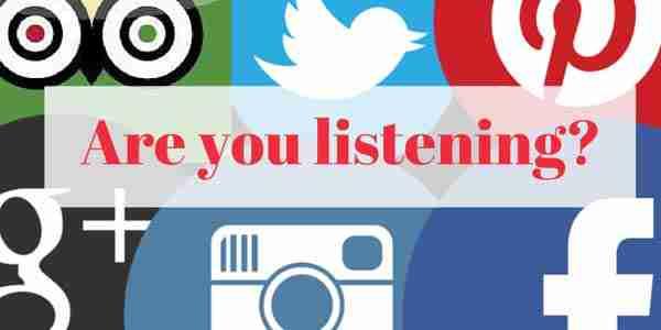 Social Media: Are You Listening?