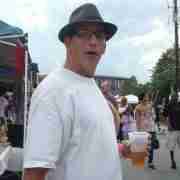 At the Taste of Chamblee event, after a Kung Fu performance