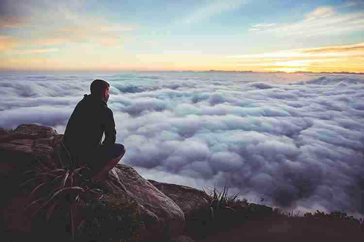 View from Above the Clouds | Finding Motivation and Inspiration